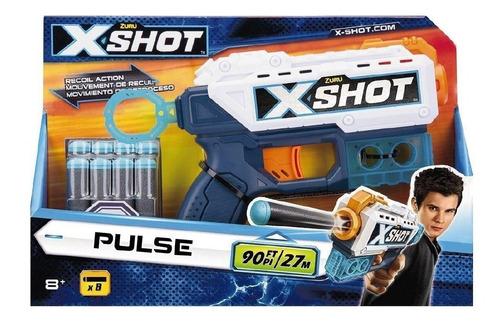 juguete pistola 8 dardos xshot pulse zuru babymovil 01163