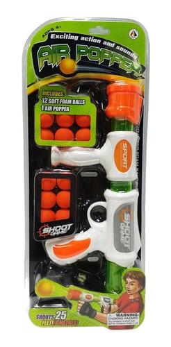 juguete: pistola lanza pelotas (no envios)