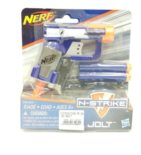 juguete pistola nerf n-strike x2 dardos