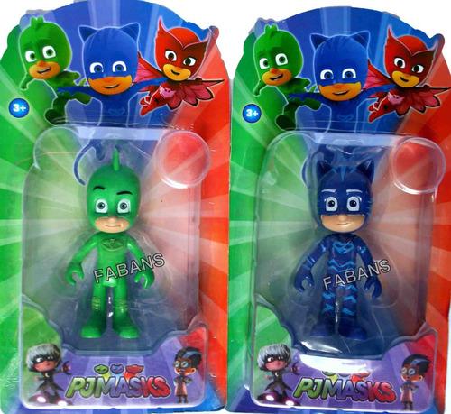 juguete pj masks muñecos pijamas pjmask catboy owlette gekko