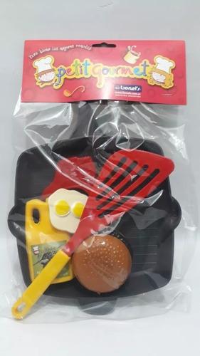 juguete plancha bifera accesorios comidas lionels babymovil