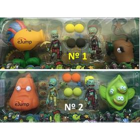 Juguete Planta Vs Zombies X 4 Varios Modelos Dia Del Niño