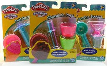 juguete play-doh shoppe paquete dulce - servir suave swirle