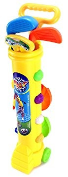 juguete poco golfistas infantil niños toy golf set w / 4 bo