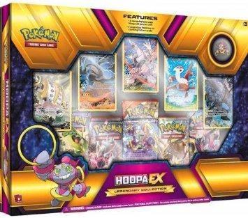 juguete pokémon tcg hoopa ex legendary collection superior