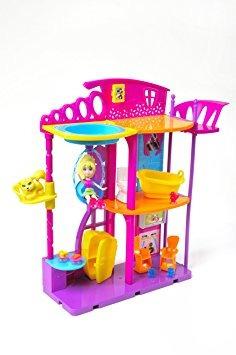 juguete polly pocket hangout casa de muñeca