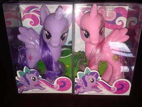 juguete pony pinkie twilight 15cm little niñas