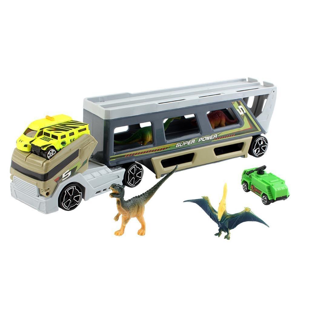 Para Niños De Transporte Casual Portátil Camiones Juguete VGMzpqUS