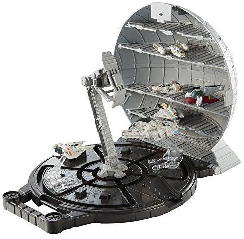 juguete portátil la estrella la muerte la guerra las galaxia