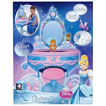 juguete princesa de disney - cenicienta vanidad