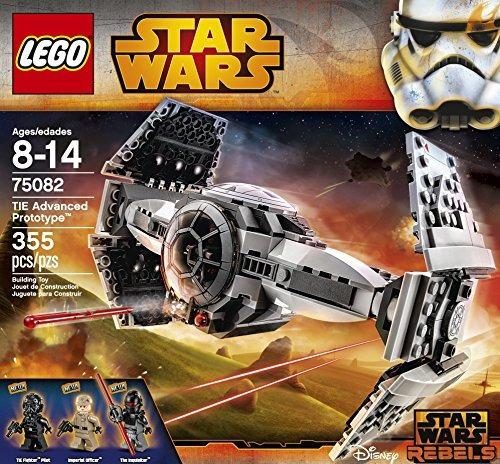 juguete prototipo avanzado lego star wars tie