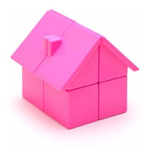 juguete puzzle cubo magico rubik yj house 2x2 casa
