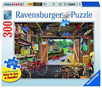 juguete puzzle garaje rompecabezas de ravensburger abuelo (
