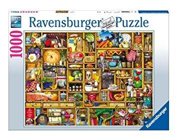 juguete puzzle jigsaw armario de la cocina, 1000 piezas