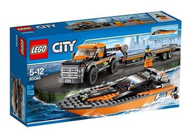 Radio Vehículos Lego Control Ciudad Lancha Juguete Gran Pk8nO0wX