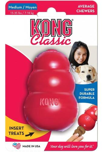juguete rellenable kong classic medium de 7-16 kgs perros