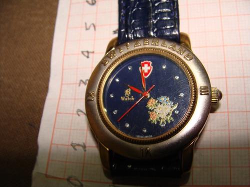 juguete ,reloj watch, zwitzerland, de cuarzo de caballero mu