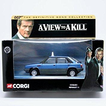juguete renault ii * un panorama para matar * 2001 corgi cl