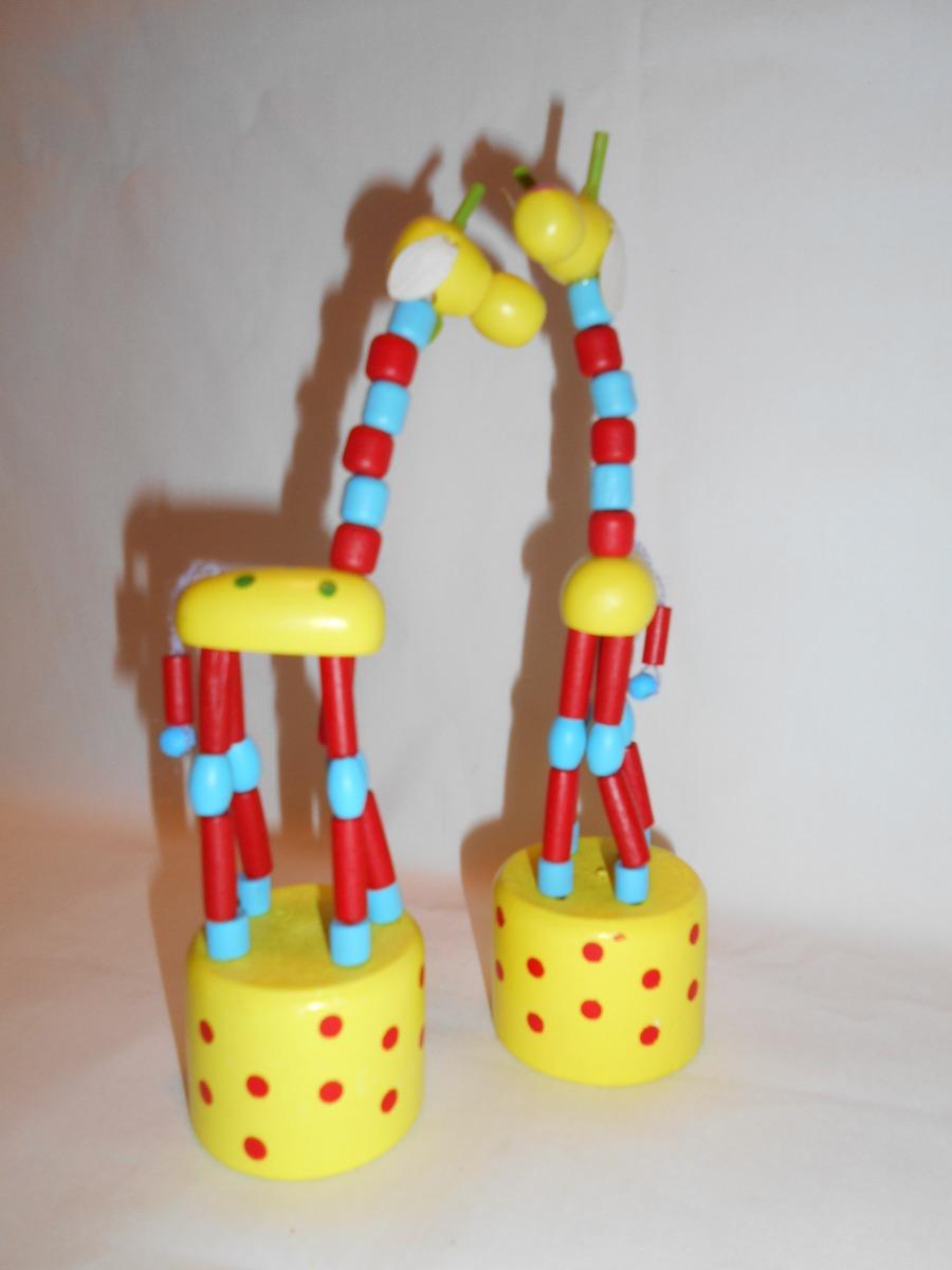 juguete retro ideal infantil x souvenirs jirafa