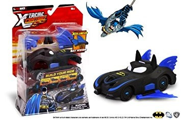 juguete ridemakerz dc comics batman batmobile xtreme custom
