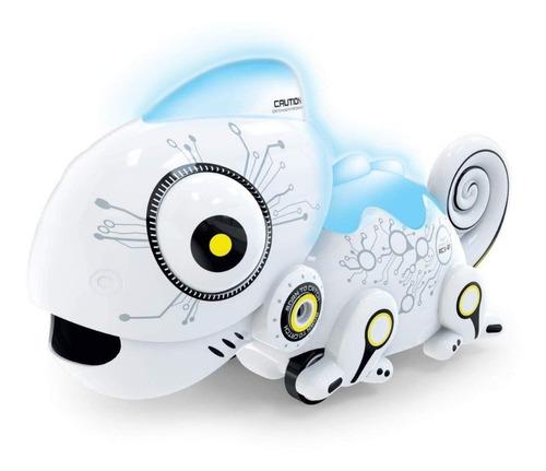 juguete robo chameleon come discos control remoto babymovil