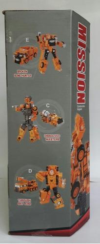 juguete robot transformers 5 estilos carro niño *15v