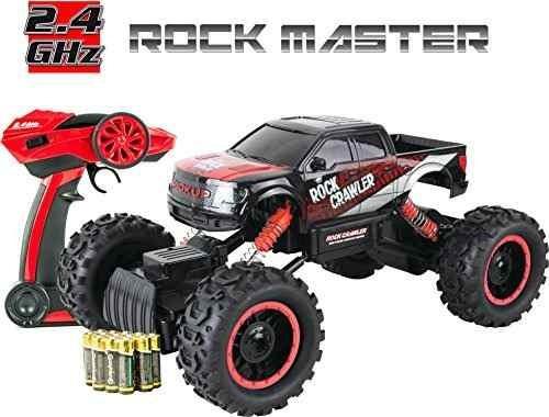 juguete rock crawler rc car - 4x4 coche de control remoto p