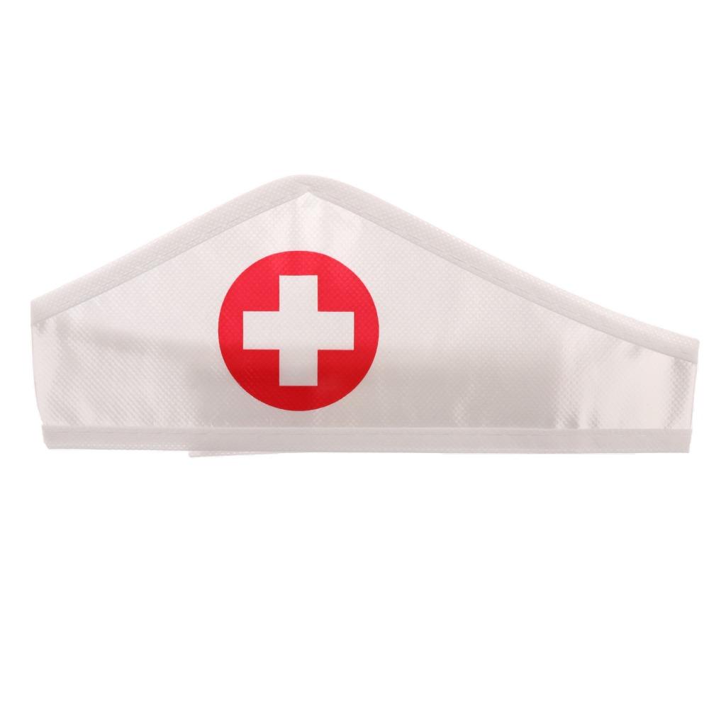 abcff0d44dee4 Mini Juguete Modelo De Ropa Sombrero De Enfermera Para Jugue ...