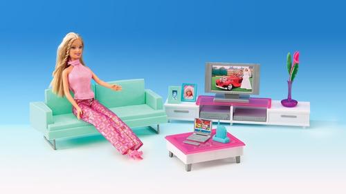 juguete sala de estar gloria muebles muñecas babymovil 2804