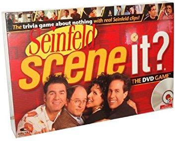 juguete scene it? juego de dvd - seinfeld edición