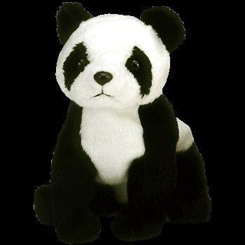 juguete se retiró a china en el ty beanie panda del bebé