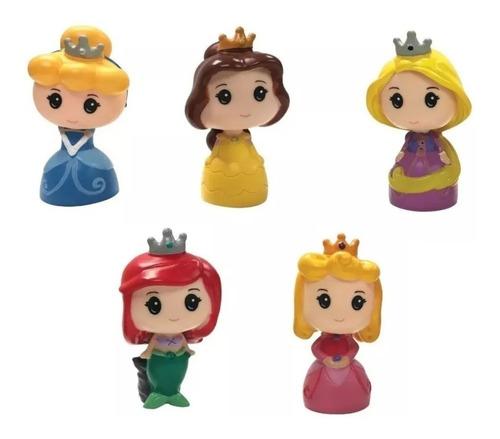 juguete set 5 muñecos princesas frozen 12cm babymovil