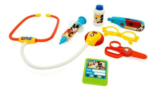 juguete set de doctor medico mickey disney con luz y sonido