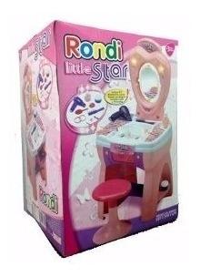 juguete set detocador little star 3310rondi luz y pinturitas