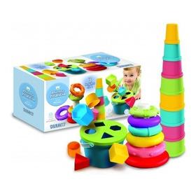 Juguete Set Didactico 3 En 1 Duravit Primera Infancia Bebe