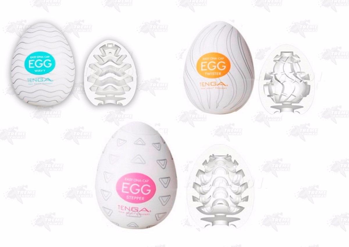 Juguete Sexual Masturbador Para Hombre Tenga Egg Xtreme 30900 Wavy En Mercado Libre