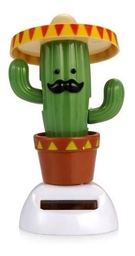 juguete solar cactus mexicano  bailarín estoykuku