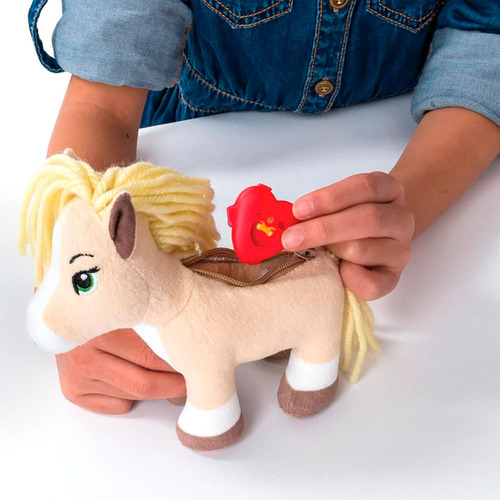 juguete spin master 90302 furry fashions palomino pony