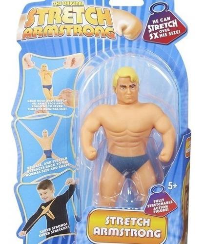 juguete stretch armstrong mini figura acción original 6452