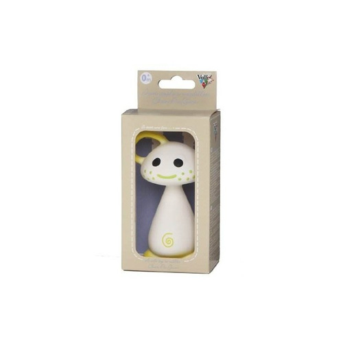 juguete suave de goma natural vulli chan pie gnon, amarillo