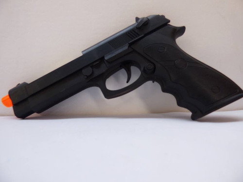 juguete super real pistola con luces laser y sonido