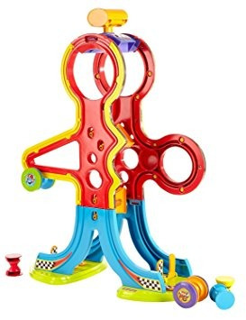 juguete super slide fisher-price spinnyos racin 'chasin'