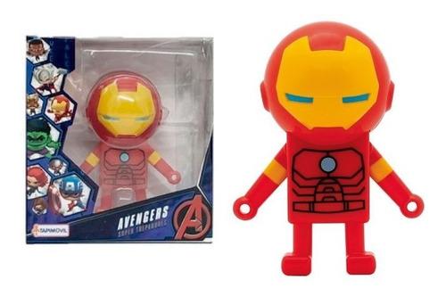 juguete super trepador spiderman ironman hulk cap. america