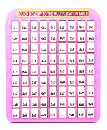juguete tabla didáctica multiplicar-niños-niñas la mejor !!!