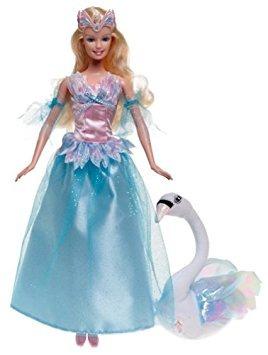 juguete tales barbie fantasía odette y el cisne