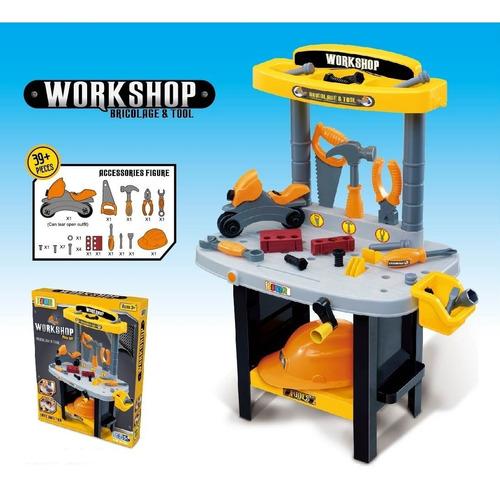 juguete taller herramientas
