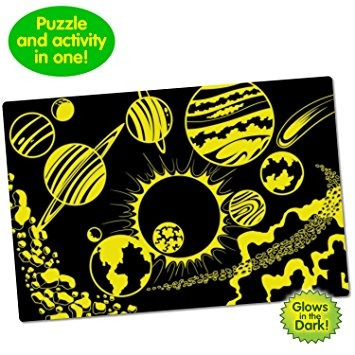 juguete the learning journey puzzle dobles, brillan en la o