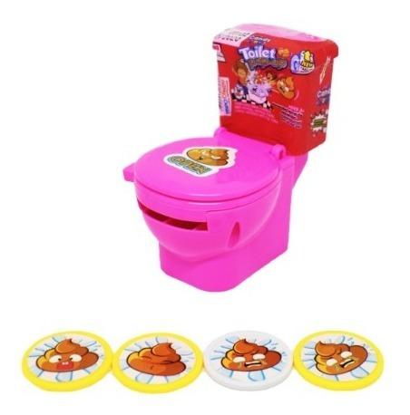 juguete toilet pop up con dulces display - kg a $26