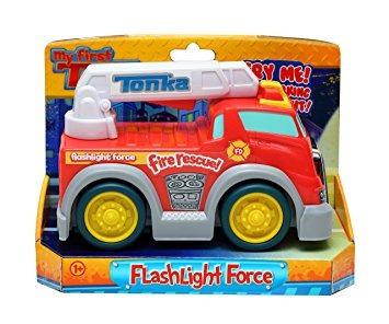 juguete tonka linterna fuerza de bomberos del rescate