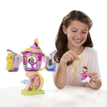 juguete 'torre stylin disney princess pequeño reino de rapu